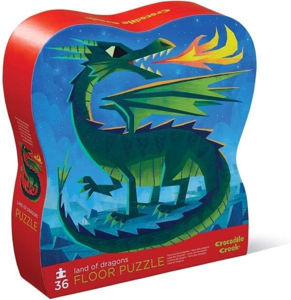 Rompecabezas Tierra de Los Dragones