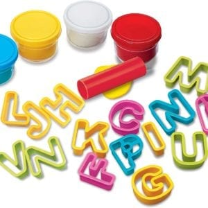 Set De Plastilina Para Aprender El Alfabeto 4M
