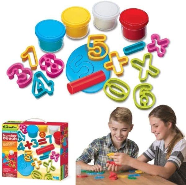 Set de Plastilina Para Aprender Los Números 4M