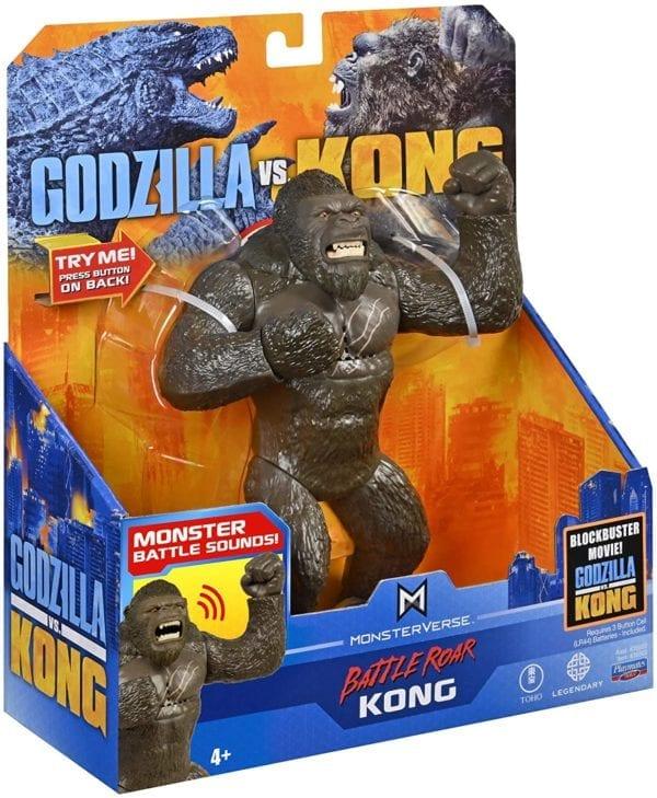 Godzilla vs Kong Deluxe Batalla Roar Kong con sonido