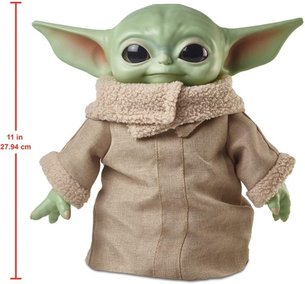 Peluche Baby Yoda Star Wars original De Mattel