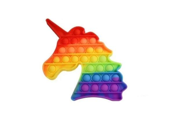 Pop IT Fidget Push Pop Burbuja Sensorial Unicornio