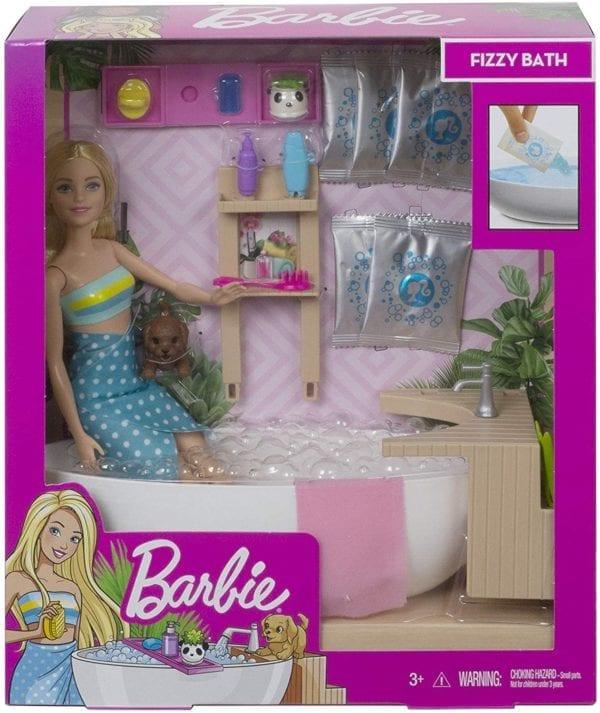 Barbie Baño De Espuma