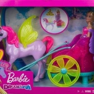 Barbie Princesa Con Carruaje Dreamtopia