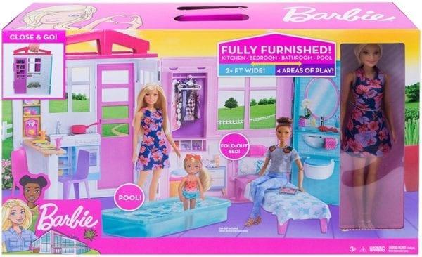 Casa Glam De Barbie Con Muñeca