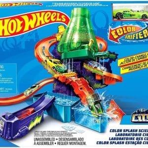 Hot Wheels Laboratorio Científico