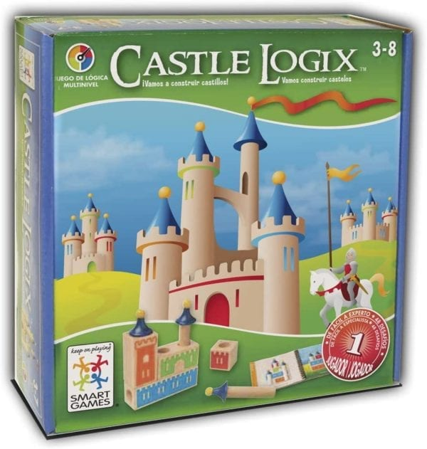 Juego De Lógica Castillo De Madera