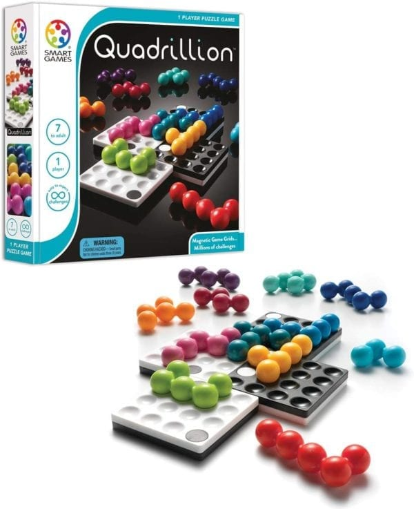 Juego De Rompecabezas Quadrillion Smartgames