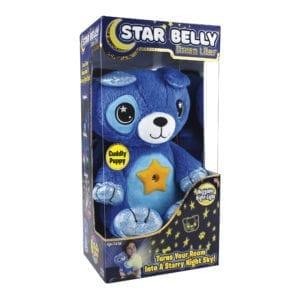 Star Belly Lampara De Peluche