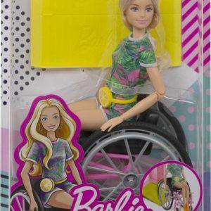 Barbie Fashionista Con Silla De Ruedas
