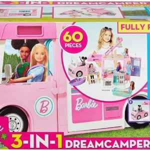 Camper De La Barbie 3 En 1