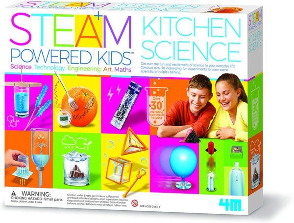Kit de Ciencia De Cocina Para Niños Con Vapor