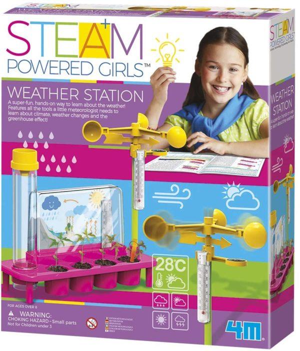 STEAM Kit De Ciencia De Estación Meteorológica 4M